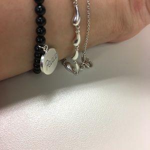 cd0e8522f Tiffany & Co. Jewelry | Peace Onyx Bracelet In Good Condition | Poshmark